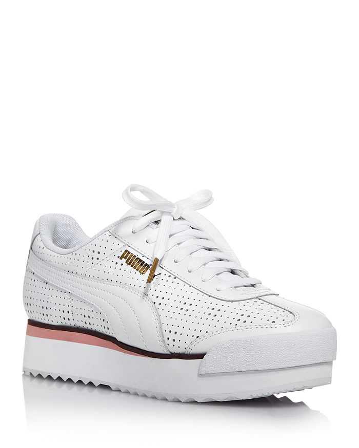 3522e4dc349 Women's Roma Amor Perforated Platform Sneakers