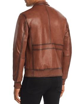 Michael Kors - Burnished Leather Jacket