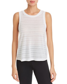 Beyond Yoga - Balanced Perforated Muscle Tank