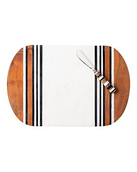 Juliska - Stonewood Stripe Serving Board & Spreaders