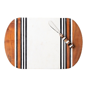Juliska Stonewood Stripe Serving Board & Spreader-Home