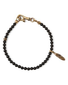 c81123c395d79 David Yurman Spiritual Beads Two-Row Bracelet with Black Onyx ...