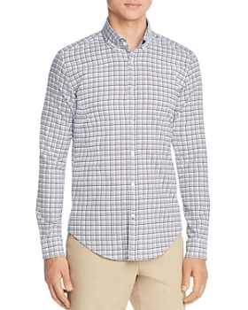 BOSS - Rod Unique Plaid Slim Fit Button-Down Shirt