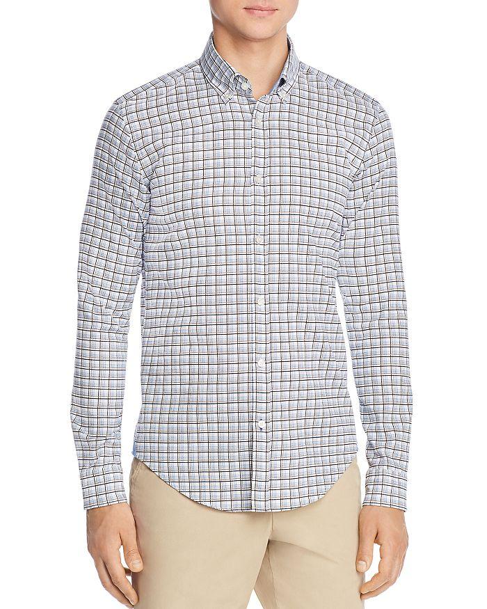 BOSS - Rod Unique Plaid Slim Fit Button-Down Shirt