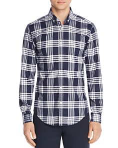 BOSS Hugo Boss - Rikard Classic Check-Print Regular Fit Button-Down Shirt