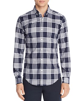 BOSS - Rikard Classic Check-Print Regular Fit Button-Down Shirt