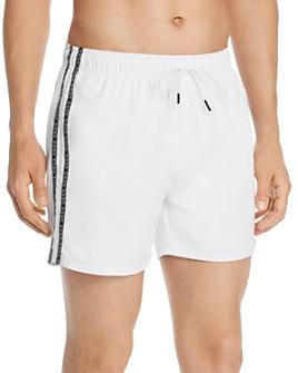 HUGO - Anguilla Logo-Tape Swim Shorts