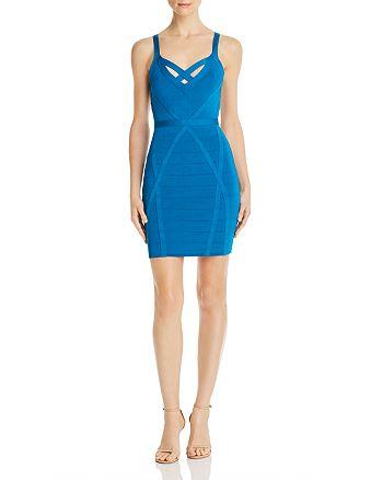 GUESS - Mirage Teasha Strappy Body-Con Dress