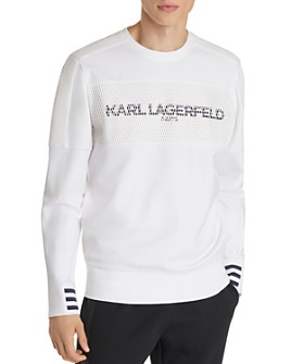 KARL LAGERFELD Paris - Paneled Logo Graphic Sweatshirt