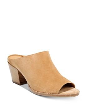 Vince - Women's Vedra Block Heel Mule Sandals