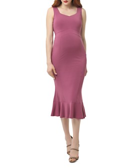 Kimi & Kai - Kora Sleeveless Mermaid Maternity Dress