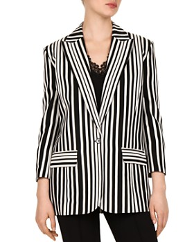 The Kooples - Striped Blazer
