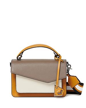 Botkier Cobble Hill Color-Block Medium Leather Crossbody-Handbags