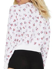Spiritual Gangster - Varsity Floral Sweatshirt