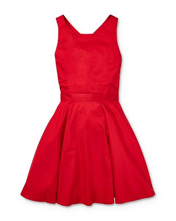 Ralph Lauren - Girls' Cross-Back Dress - Big Kid
