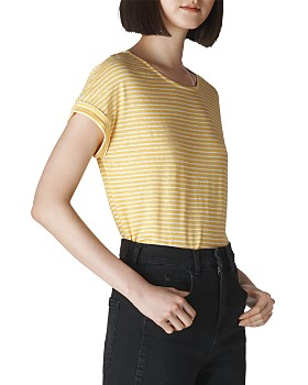 Whistles - Striped Relaxed Tee