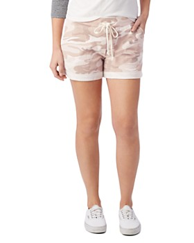 ALTERNATIVE - Camo Drawstring Shorts