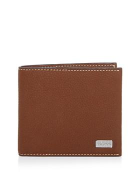 BOSS Hugo Boss - Leather Bi-fold Wallet