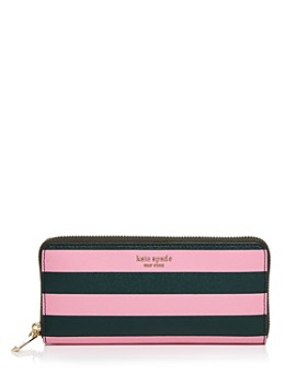 kate spade new york - Sylvia Slim Striped Continental Wallet