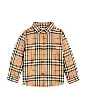 Burberry - Boys' Frederick Vintage Check Shirt - Baby, Little Kid, Big Kid