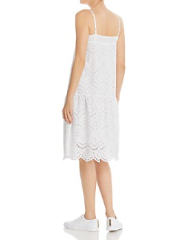 Nation LTD - Rayna Drop-Waist Eyelet Dress