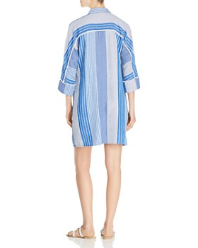 NIC and ZOE - Fiji Striped Shift Dress