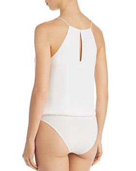 WAYF - Posie Lace-Up Bodysuit