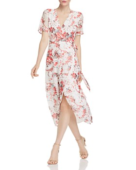 Bardot - Floral Midi Wrap Dress - 100% Exclusive