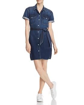 Current/Elliott - The Flint Denim Shirt Dress