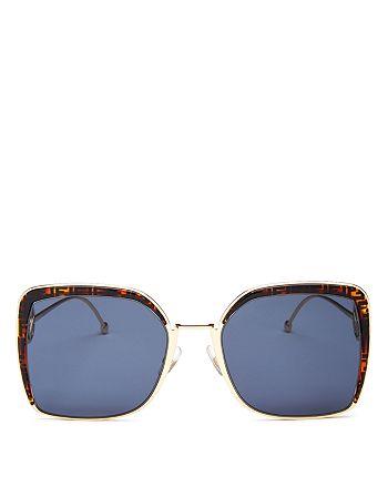 Fendi - Women's Square Sunglasses, 58mm