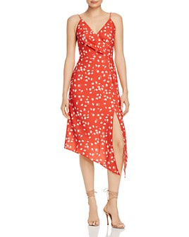 Finders Keepers - Mae Asymmetric Floral Midi Dress