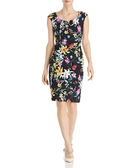 Adrianna Papell - Floral Sheath Dress