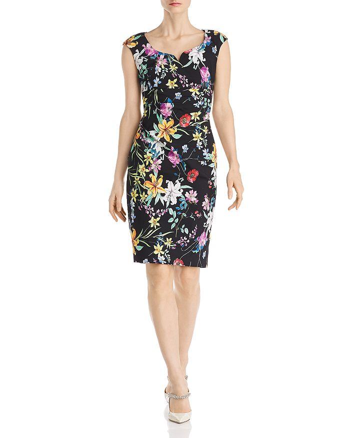 Adrianna Papell - Floral Sheath Dress