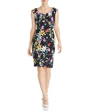 Adrianna Papell Floral Sheath Dress