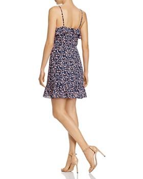 AQUA - Ruffled Leopard Print Dress - 100% Exclusive