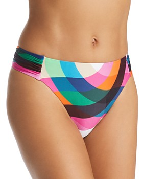 Trina Turk - Kaleidoscope Shirred Side Hipster Bikini Bottom