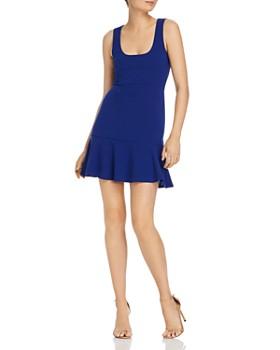 3c101ae295 AQUA - Ruffle-Hem Dress - 100% Exclusive ...