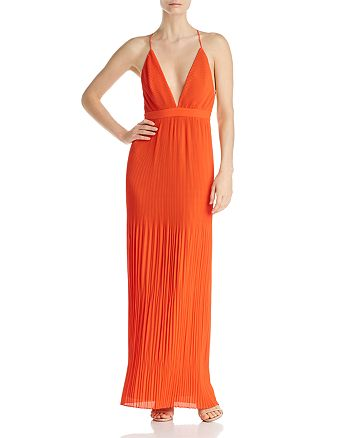 Fame and Partners - Caspian Pleated Gown