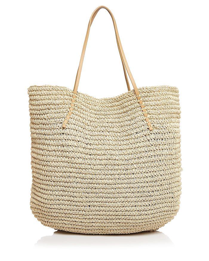 AQUA - Market Bag Raffia Tote - 100% Exclusive