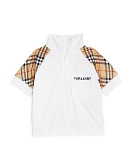 Burberry - Boys' Hamilton Zip Shirt - Little Kid, Big Kid