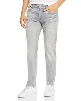 7 For All Mankind - Slimmy Slim Fit Jeans in Altruist Gray