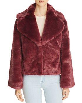 Unreal Fur - Madam Butterfly Short Faux Fur Coat