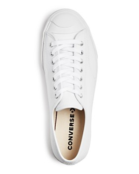 Converse - Men's Jack Purcell Leather Low-Top Sneakers