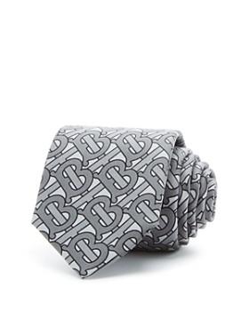 Burberry - Manston Monogram Silk Classic Tie