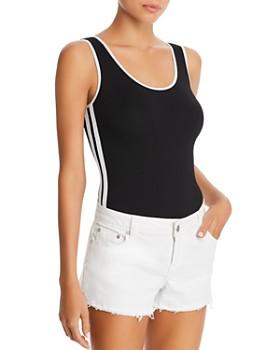 AQUA - Track Stripe Bodysuit - 100% Exclusive