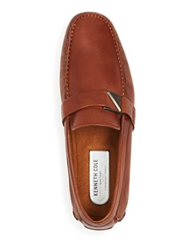 Kenneth Cole - Men's Theme Leather Moc-Toe Drivers