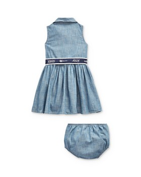 Ralph Lauren - Girls' Belted Dress & Bloomers Set - Baby
