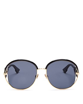 74a081119319 Dior - Women's Dior New Volute Round Sunglasses, ...