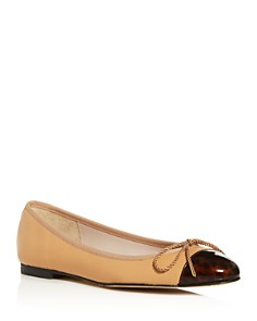Paul Mayer - Women's Love Cap-Toe Ballet Flats