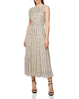 REISS - Raya Striped Maxi Dress